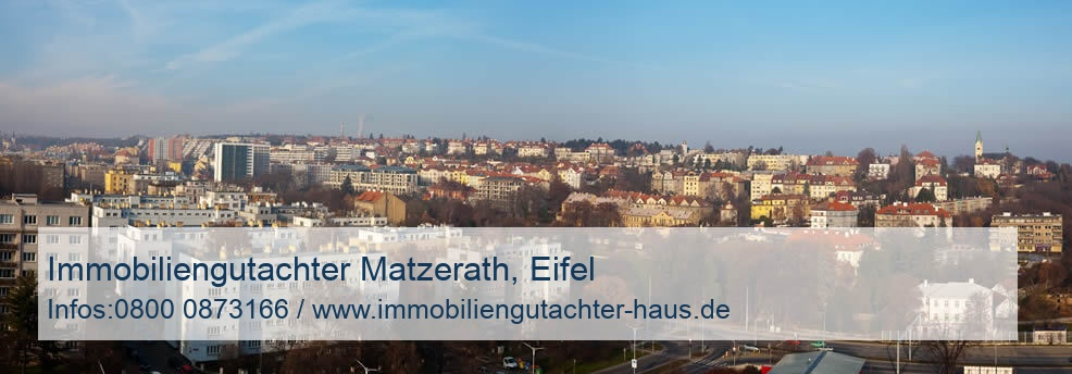 Immobiliengutachter Matzerath, Eifel