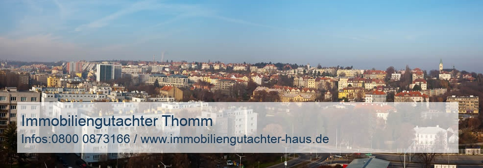 Immobiliengutachter Thomm